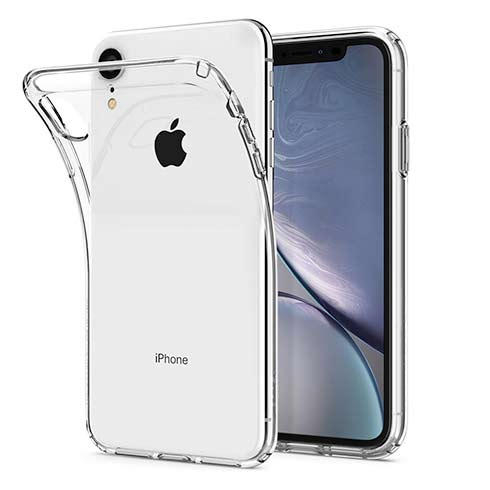 Spigen kryt Liquid Crystal pre iPhone XR - Crystal Clear