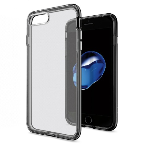Spigen kryt Neo Hybrid Crystal pre iPhone 7 Plus - Jet Black