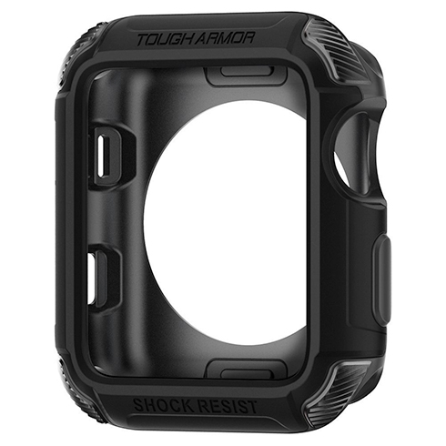 Spigen kryt Tough Armor 2 pre pre Apple Watch 3/2/1 42mm - Black