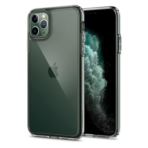 Spigen kryt Ultra Hybrid pre iPhone 11 Pro Max - Crystal Clear