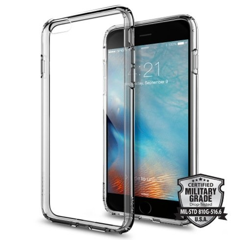 Spigen kryt Ultra Hybrid pre iPhone 6/6s - Space Crystal
