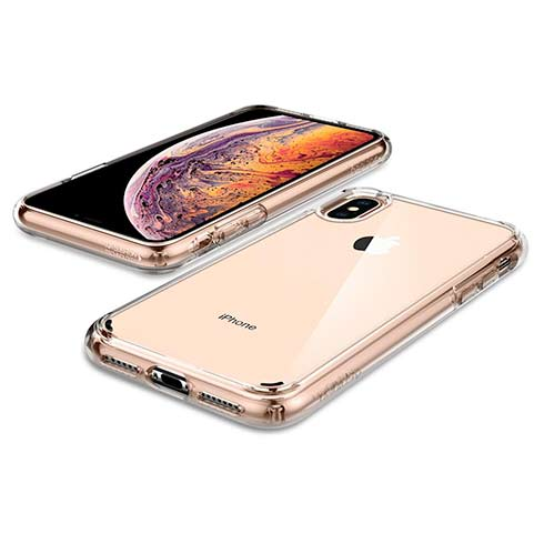 Spigen kryt Ultra Hybrid pre iPhone XS Max - Crystal Clear