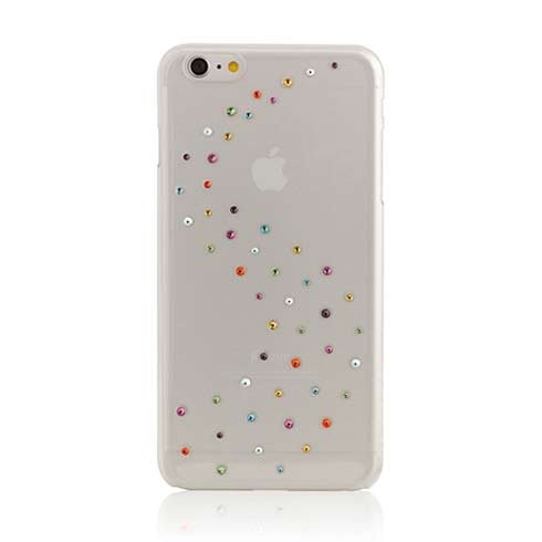 Swarovski kryt Milky Way pre iPhone 6 plus/6s Plus - Cotton Candy