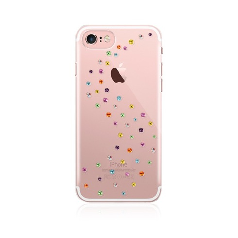 Swarovski kryt Milky Way pre iPhone 7 - Cotton Candy