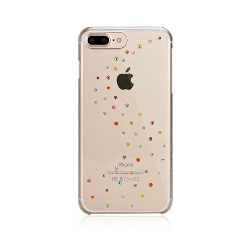 Swarovski kryt Milky Way pre iPhone 7 Plus - Cotton Candy