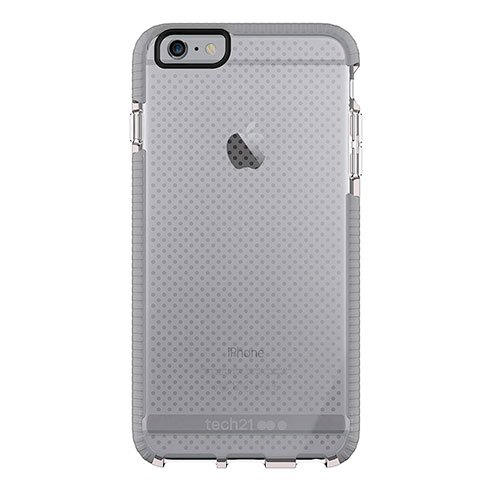 Tech21 Evo Mesh Case iPhone 6/6s Plus - Clear/Grey