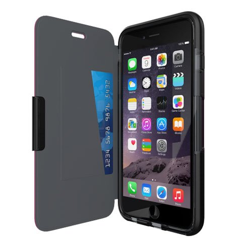 Tech21 Evo Wallet Case iPhone 6/6s Plus - Black