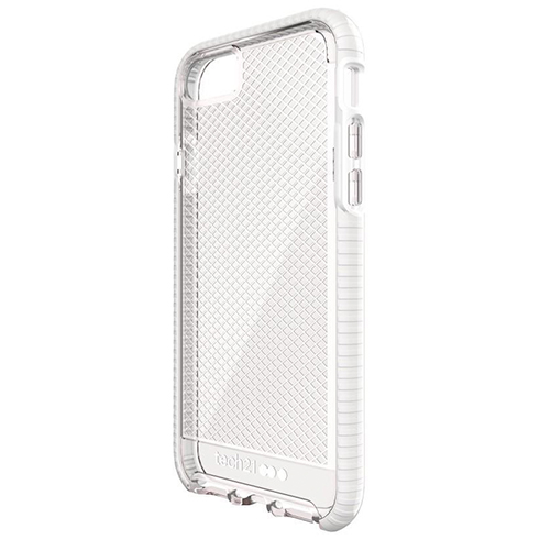 Tech21 kryt Evo Check pre iPhone 6/6s - Clear/White