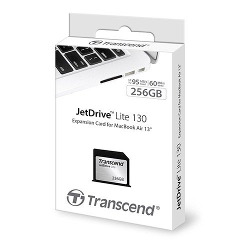 Transcend expansion card JetDrive Lite 130 256GB pre MacBook Air 13""