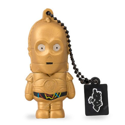 Tribe 16GB USB Flash Drive Star Wars C-3PO