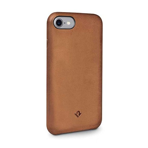 TwelveSouth kryt Relaxed Leather pre iPhone 7/8 - Cognac