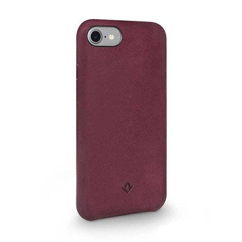TwelveSouth kryt Relaxed Leather pre iPhone 7/8 - Marsala