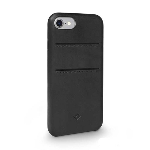 TwelveSouth kryt Relaxed Leather with pockets pre iPhone 7/8/SE 2020 - Black