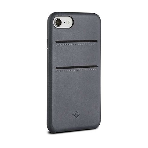 TwelveSouth kryt Relaxed Leather with pockets pre iPhone 7/8/SE 2020 - Earl Grey