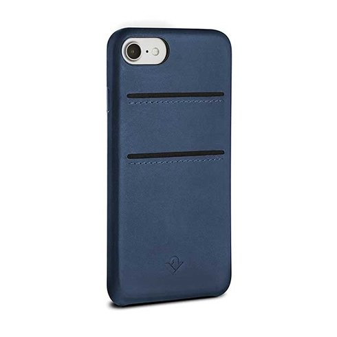 TwelveSouth kryt Relaxed Leather with pockets pre iPhone 7/8/SE 2020 - Indigo