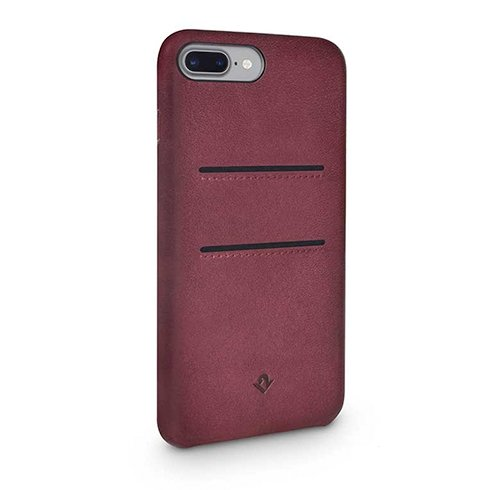 TwelveSouth kryt Relaxed Leather with pockets pre iPhone 7 Plus/8 Plus - Marsala