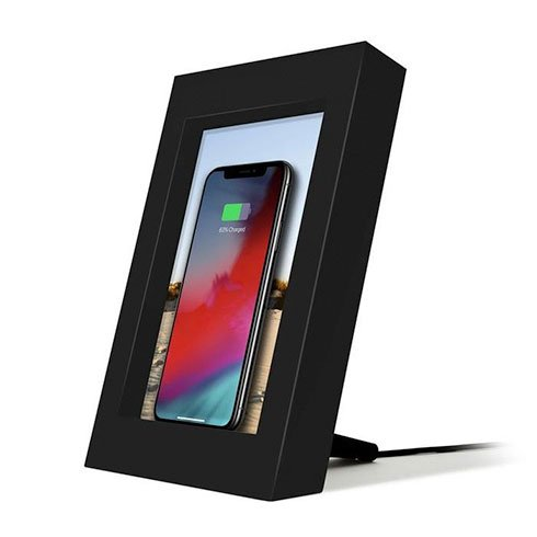 TwelveSouth PowerPic Wireless Charging Picture Frame - Black