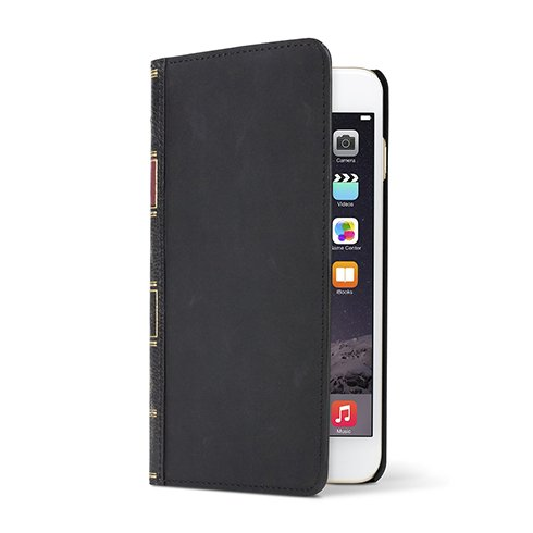 TwelveSouth puzdro BookBook pre iPhone 6 6s Plus - Black  9dfaf0f3849