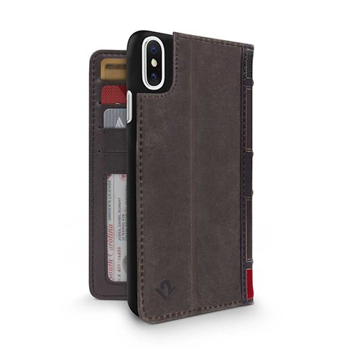 TwelveSouth puzdro BookBook pre iPhone X/XS - Brown