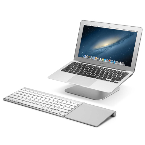 TwelveSouth stojan HiRise pre MacBook Pro/MacBook Air - Silver