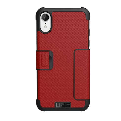 UAG puzdro Metropolis pre iPhone XR - Red  6fbcb81b996