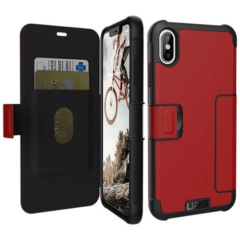 UAG puzdro Metropolis pre iPhone XS Max - Red 93918d104ad