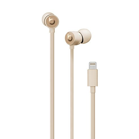 urBeats3 Earphones Lightning - Satin Gold