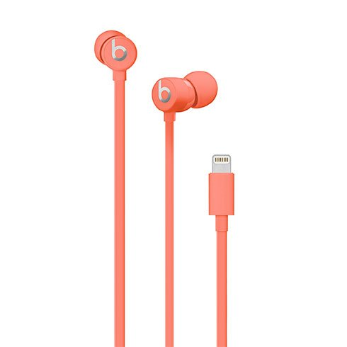 urBeats3 Earphones with Lightning Connector – Coral slúchadlá