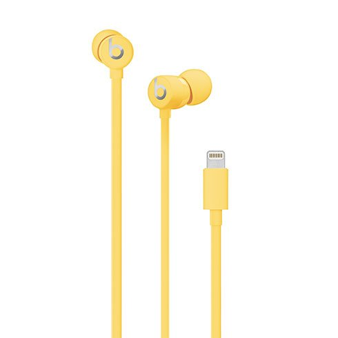 urBeats3 Earphones with Lightning Connector – Yellow slúchadlá