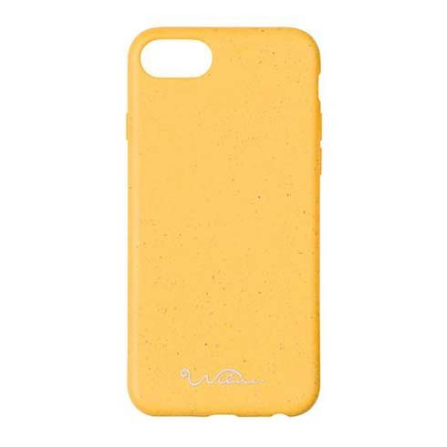 Wilma kryt Eco Case pre iPhone 6/7/8/SE 2020 - Essential Yellow
