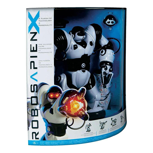 WowWee robot Robosapien X - Black and White