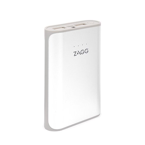 ZAGG powerbank Ignition 6000 mAh 2.1A Flash Light - White