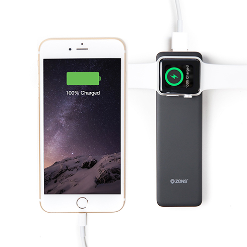 ZENS Apple iPhone/Watch Powerbank Black