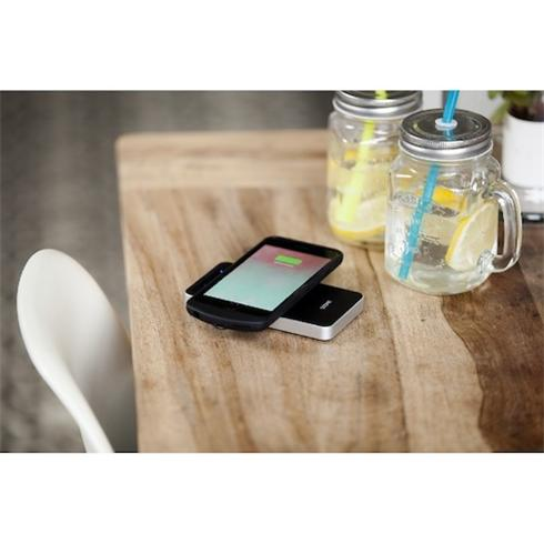 ZENS Power Bank Wireless Charger Black